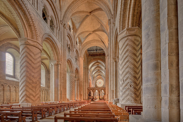 1599px Durham Cathedral Nave